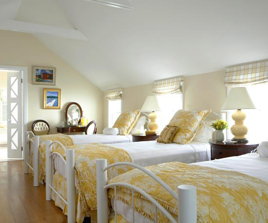 New Home Interior Design: Yellow Bedrooms I Love