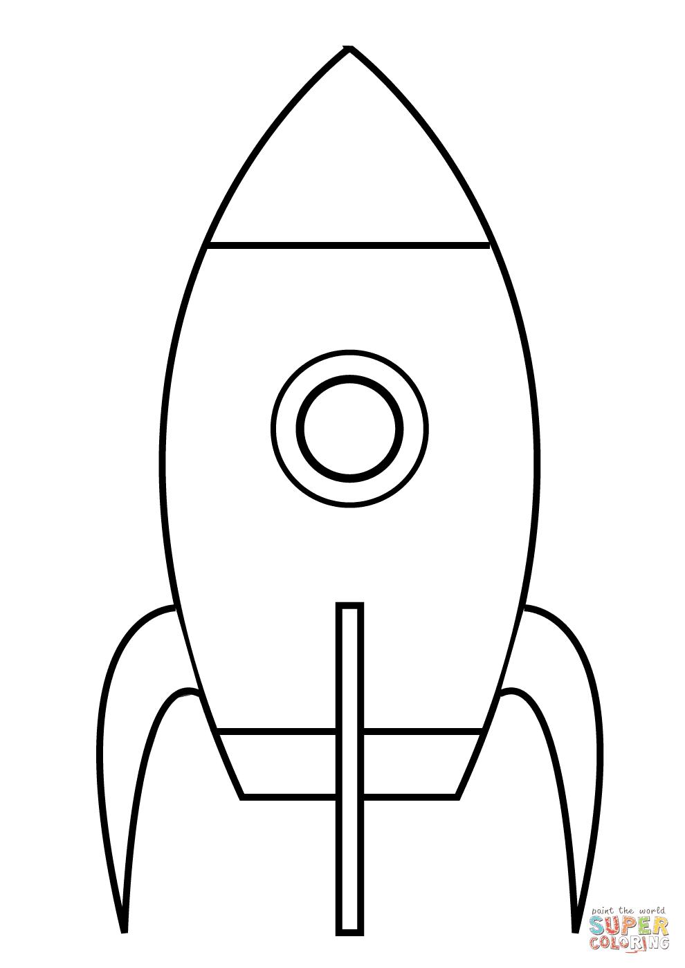 Desenhos para imprimir e colorir de foguetes s escola for Printable rocket coloring pages