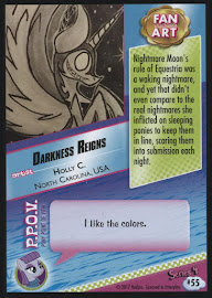 MLP Darkness Reigns Series 4 Trading Card