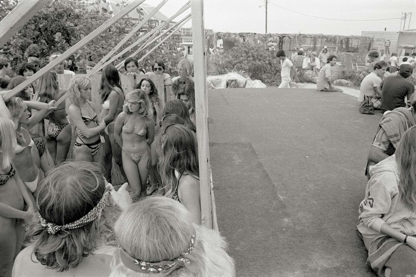 Spring Break in the 1980s.