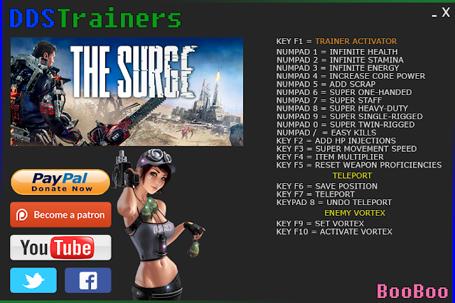 The Surge Trainers and Cheats for PC