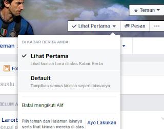 cara mendapatkan pemberitahuan setiap teman facebook update status