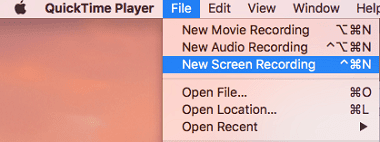 Best Screen Recorder For Mac QuickTime Player