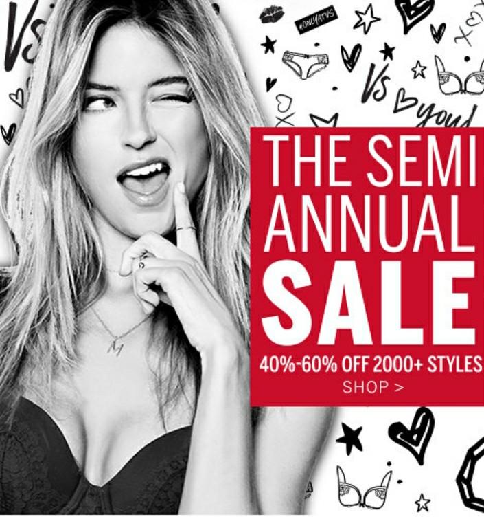 023666e57471b Victoria s Secret - Semi Annual Sale (EXPIRED)