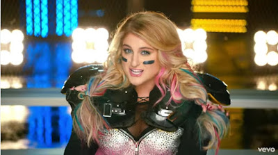"Meghan Trainor Premieres ""I'm a Lady"" Video"