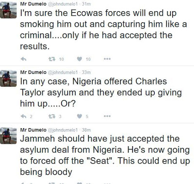 """Jammeh should've accepted the asylum from Nigeria""""- John Dumelo"""