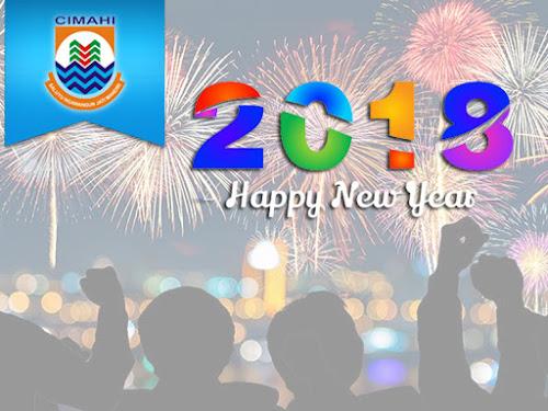 Lokasi perayaan  malam tahun baru 2018 di Cimahi