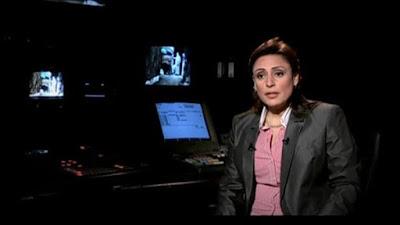 إحالة الإعلامية مني عراقي للتحقيق وايقاف برنامجها