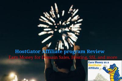 Hostgator affiliate program review: Earn Money for Domain Sales, Hosting, SSL et More