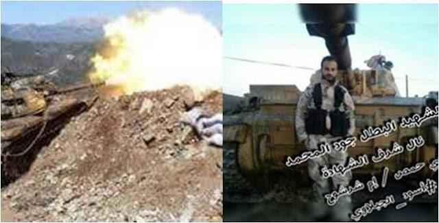 Άρματα μάχης της Kata'ib al-Jabalawi