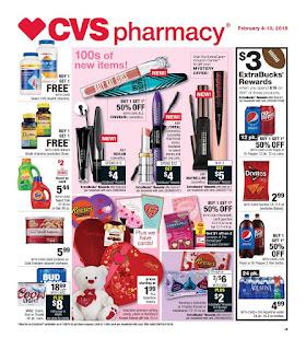 CVS Weekly Ad February 4 - 10, 2018