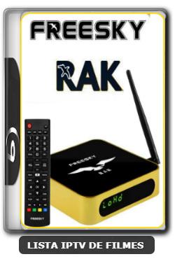 Freesky RAK Nova Atualização Keys SKS 67w V2638 - 21-02-2020