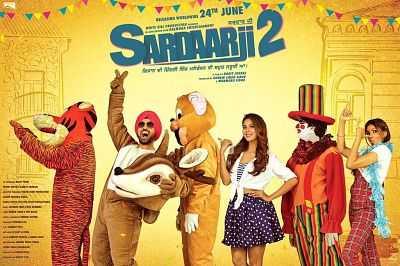 Sardaarji 2 (2016) Punjabi Movie 400mb