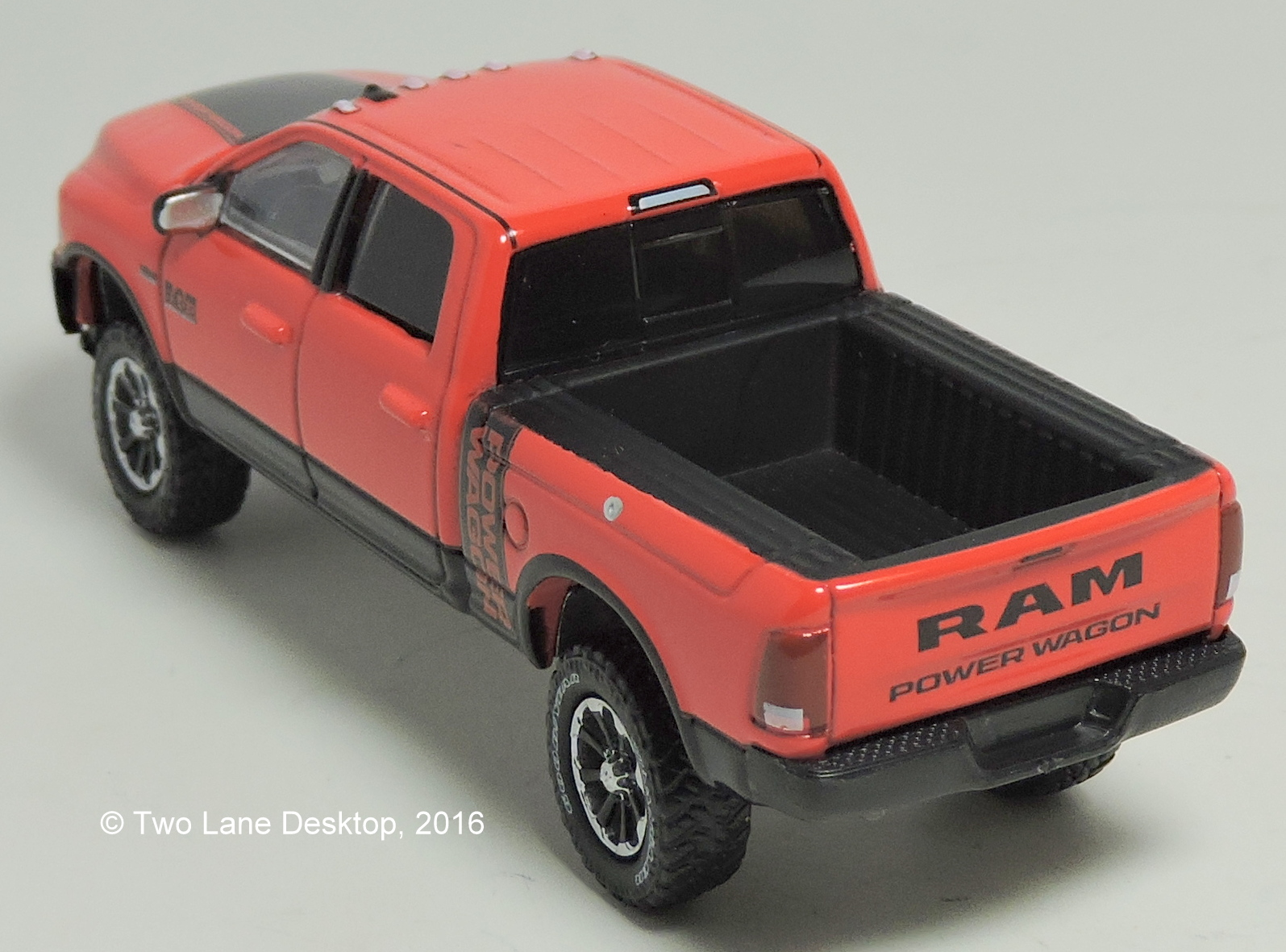 Hot Wheels Power Wagon : Two lane desktop hot wheels and greenlight