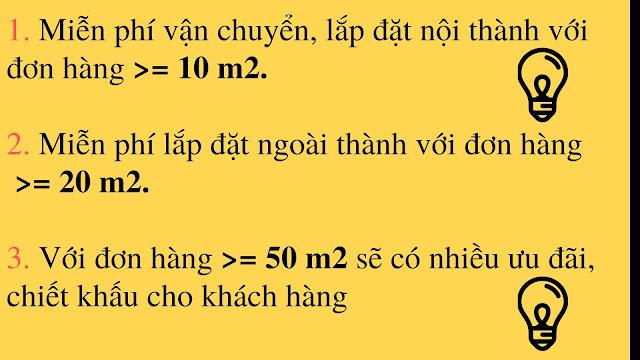 Những ưu đãi tại Vietsunblinds khi quý khách lựa chọn mua mành tre che nắng.