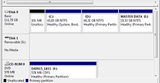 Cara Mudah Menambah Ukuran Partisi C Pada Windows 7, Tutorial Cara Menambah Ukuran Disk C Windows 7, Trik Cara Menambah Space Partisi Drive C Dari Drive D Dengan