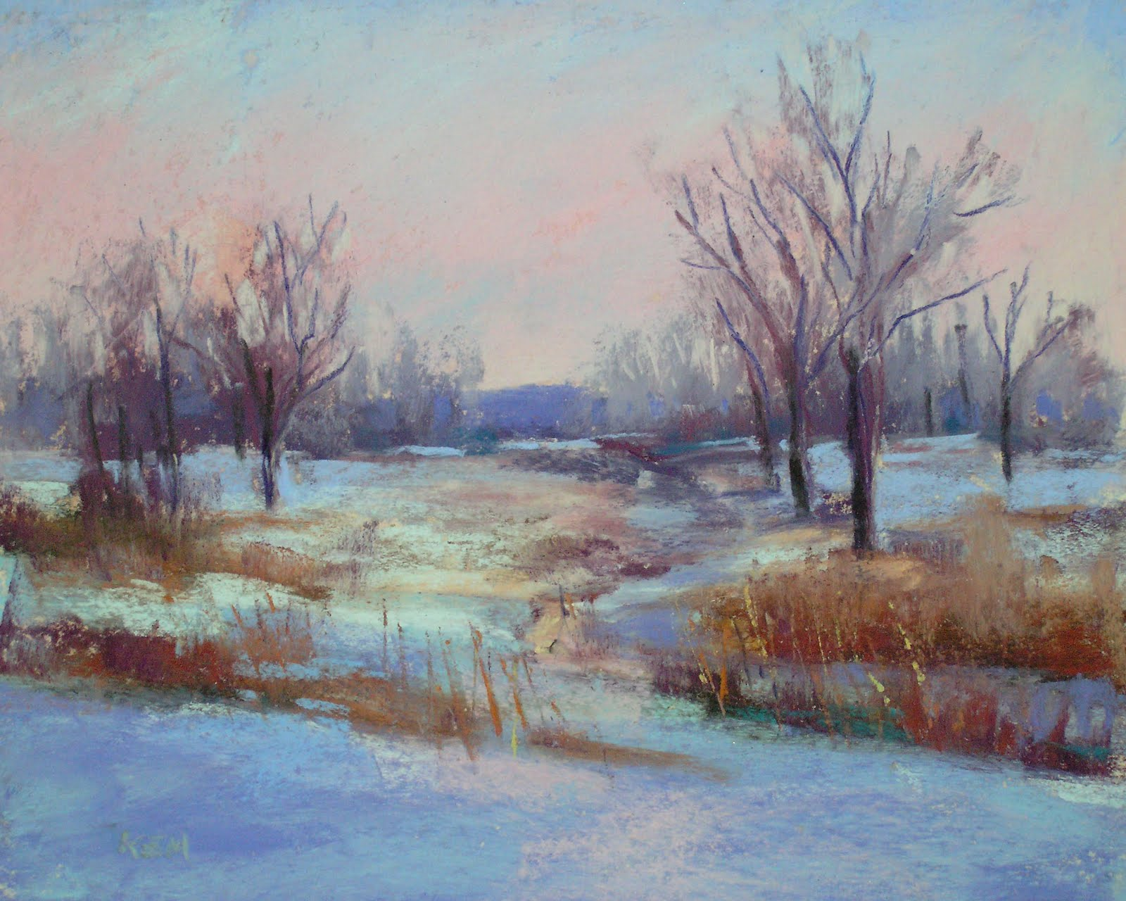 painting my world painting winter landscapes i need. Black Bedroom Furniture Sets. Home Design Ideas