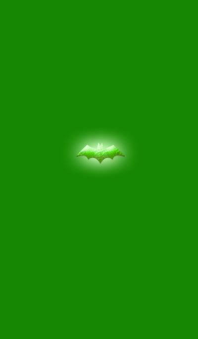 Light bat gold green 2