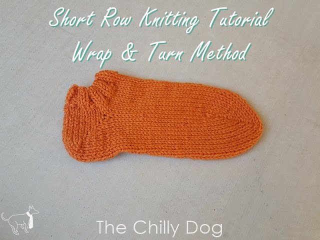 Sock Knitting Tutorial: Wrap and Turn Short Row Heels