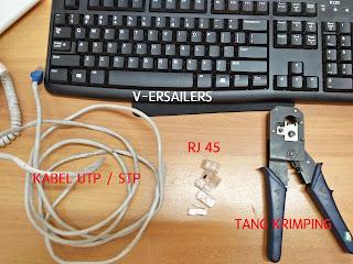 Cara membuat kabel straight rj 45 urutan susunan kabel straight cross lan tutorial memasang konektor jaringan crossover instalasi  konfigurasi  seting network rg45 utntuk router hub switch koneksi komputer sambungan server line