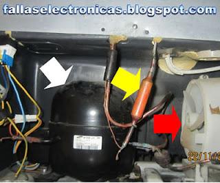 compresor y filtro de secado heladera bosch