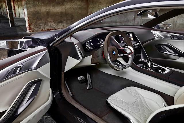 BMWの新型「8シリーズクーペ」を示唆する「コンセプト8シリーズ」
