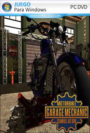 Motorbike Garage Mechanic Simulator PC Full