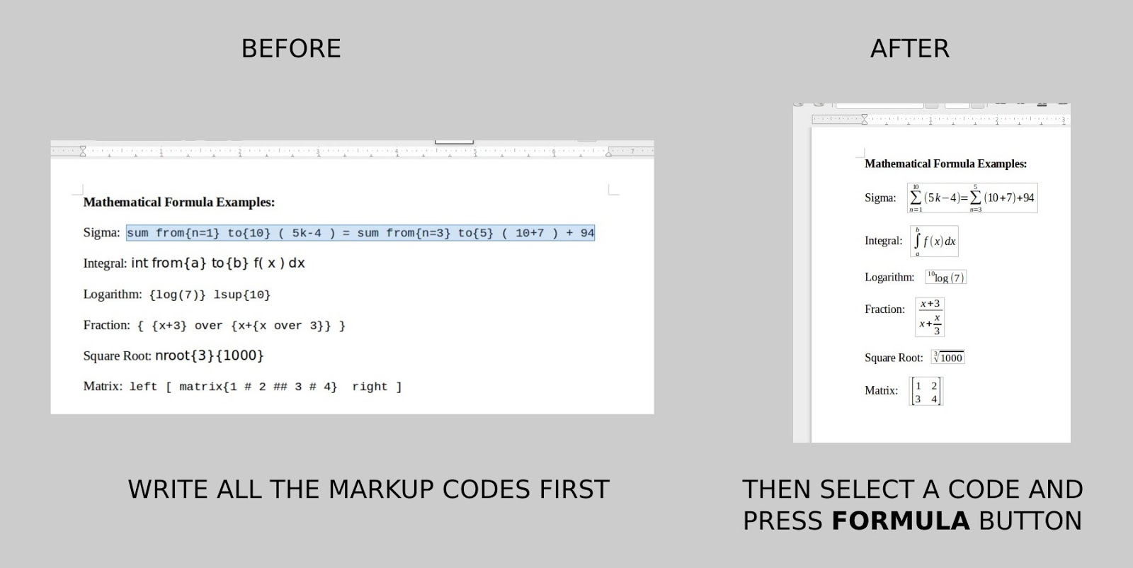 how to give references in libreoffice