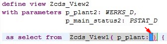ABAP on HANA – Steps to call a CDS view from another CDS View