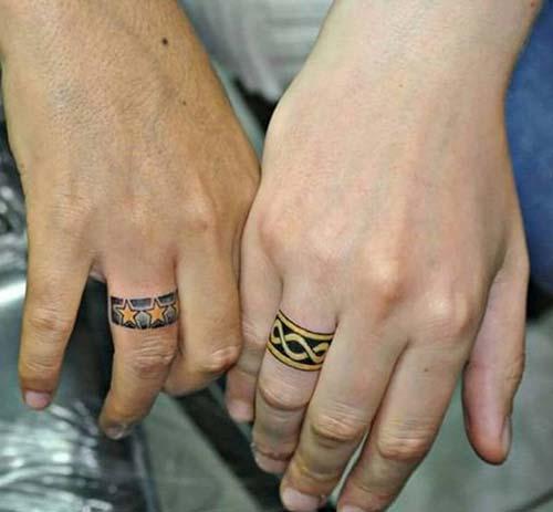 wedding ring tattoo ideas yüzük parmağı dövme fikirleri