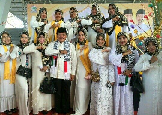Gelar Perayaan Maulid Partai Golkar Dukung Penuh Palestina