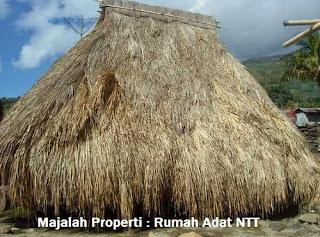 Desain Bentuk Rumah Adat NTT dan Penjelasannya, Rumah Adat Nusantara