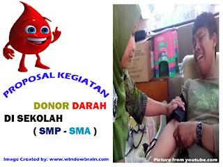 Proposal Kegiatan Donor Darah di Sekolah