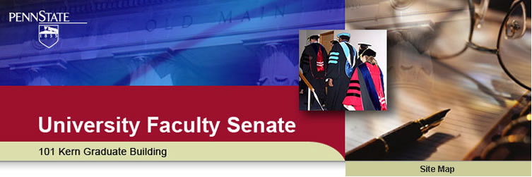 The Penn State University Faculty Senate Website