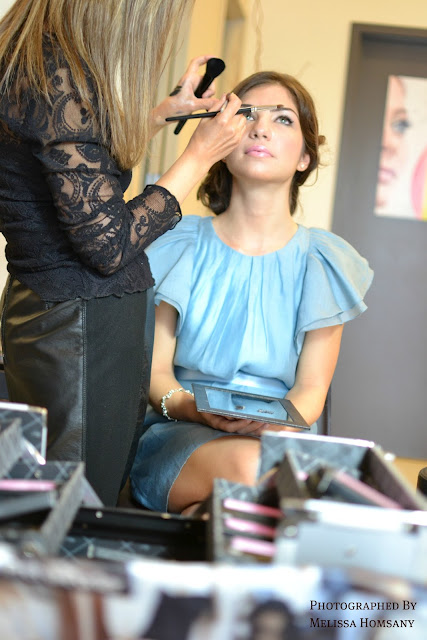 Últimas pruebas del peinado y del maquillaje - Foto: www.nkweddings.ca