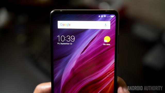 4 Cara Mengambil Screenshot di  Xiaomi Mi Mix 2
