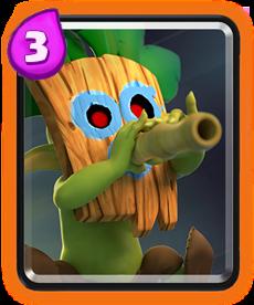 Carta Goblin com Dardos Clash Royale - Cards Wiki