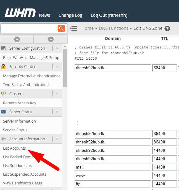 How to access cPanel accounts through WHM| cheapest linux hosting provider
