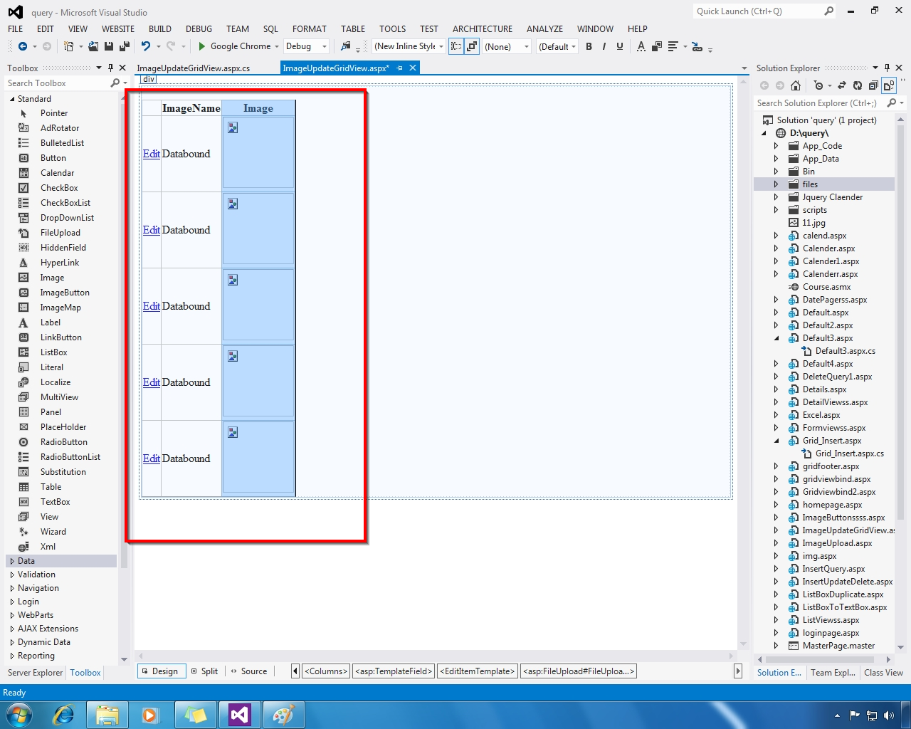 Gridview textbox textchanged event using jquery