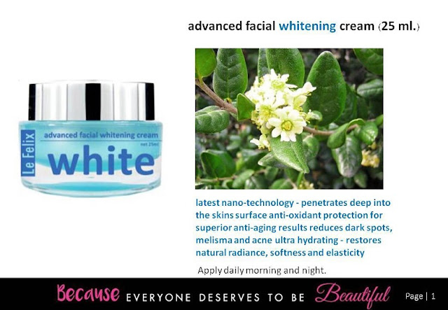 Advanced Facial Whitening Cream