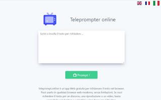 Teleprompter online