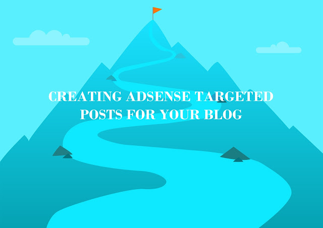 Adsense targeted post for your blog