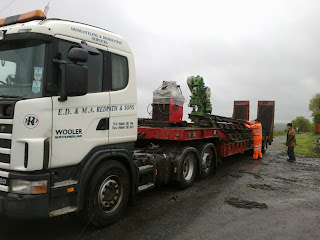 ..... and other equipment bound for the nascent Alnwick branch
