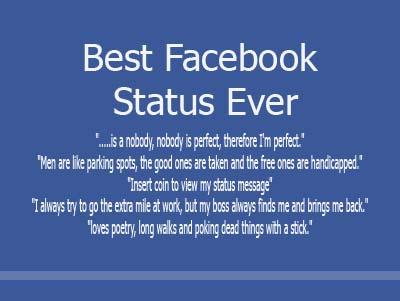 Facebook Status Quotes