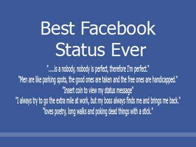 Best Facebook Status Ever Apihyayan Blog
