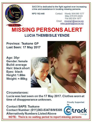Photos: 30-year-old South African woman found dead in her office nearly two weeks after she was reported missing