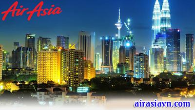Vé máy bay đi Kuala Lumpur hãng Air Asia