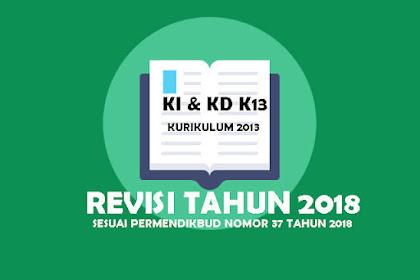 KI Dan KD Kelas 4 Kurikulum 2013 Revisi Tahun 2019