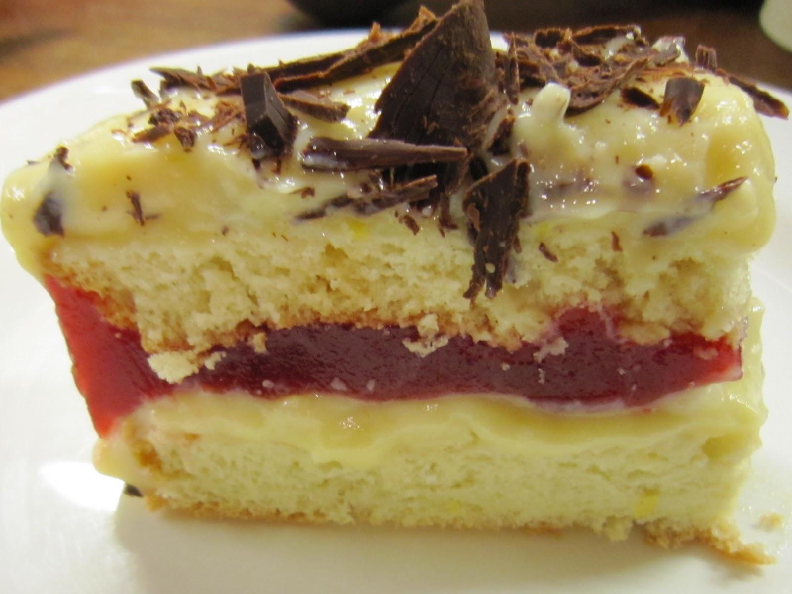 Zuppa Inglese Sponge Cake Recipe