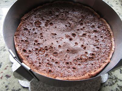 Tarta brownie y flan olla GM.